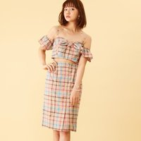 Honey Salon Vintage Checkered Dress