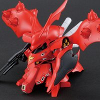 SD Gundam Cross Silhouette Char's Counterattack Nightingale