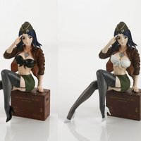 1/6 Scale Amy Army Figure Collection