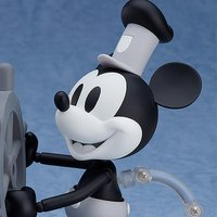 Nendoroid Steamboat Willie Mickey Mouse: 1928 Ver. (Black & White)