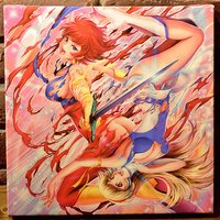 Cutie Honey Chara Fine Graph Print (Square)