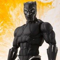 S.H.Figuarts Avengers: Infinity War Black Panther w/ Tamashii Effect Rock Set