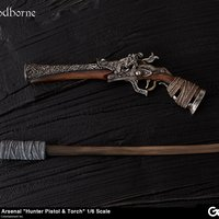 Bloodborne Hunter's Arsenal: Hunter Pistol & Torch 1/6 Scale Weapon