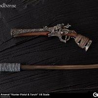 Bloodborne Hunter's Arsenal: Hunter Pistol & Torch 1/6 Scale Weapon