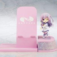 Choco Sta Hyperdimension Neptunia Nepgear Figure & Smartphone Stand