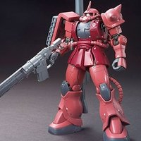 HG 1/144 Mobile Suit Gundam Char's Zaku