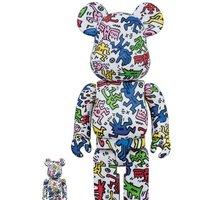 BE@RBRICK Keith Haring 100% & 400%