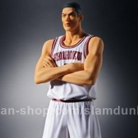 The Spirit Collection of Inoue Takehiko: Slam Dunk - Takenori Akagi (White Uniform Ver.)