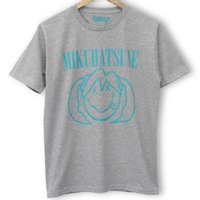 Hatsune Miku Smile Heather Gray T-Shirt