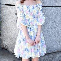 LIZ LISA Pastel Flower Dress