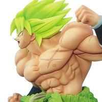 Dragon Ball Super Super Saiyan Broly Fullpower Z-Battle Figure
