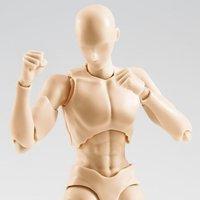 S.H.Figuarts Body-kun Rihito Takarai Edition DX Set: Pale Orange Color Ver.