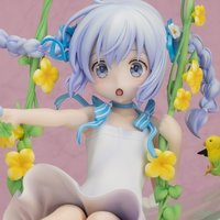 Is the Order a Rabbit?? Chino: Flower Swing 1/7 Scale Figure