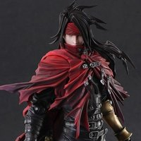 Play Arts Kai Dirge of Cerberus: Final Fantasy VII Vincent Valentine