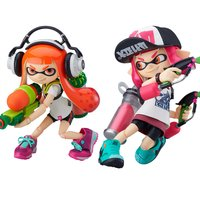 figma Splatoon Inkling Girls: DX Edition