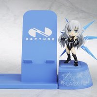 Choco Sta Hyperdimension Neptunia Black Heart Figure w/ Smartphone Stand