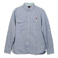 KOG Collection - Zelda Chambray Shirt (Sax)