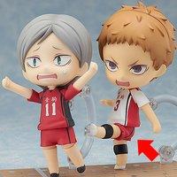 Nendoroid Haikyu!! Lev Haiba & Morisuke Yaku Set w/ Bonus