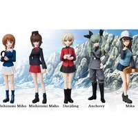 Ultra Detail Figure Girls und Panzer das Finale Complete Set