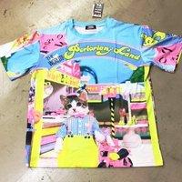 ACDC RAG Name Neko Land Parasol T-Shirt