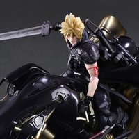 Play Arts Kai Final Fantasy: Advent Children Cloud Strife & Fenrir Set