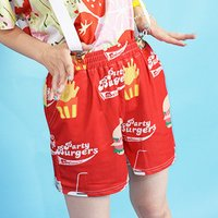 ACDC RAG Hamburger Shorts