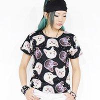 ACDC RAG Cat Petite T-Shirt