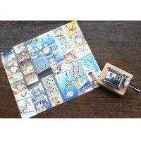 """Soukai Drops"" Paper-Tape Music Box Manga & Music Box Set"