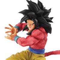 Dragon Ball GT x10 Kamehameha Figure: Super Saiyan 4 Goku