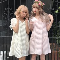 Swankiss RS Sailor Lace Dress