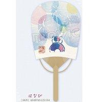 Natsume's Book of Friends Nyanko-sensei Fireworks Oval Fan