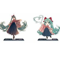 Hatsune Miku x Tokyo 150 Years Festival Collaboration Acrylic Stand