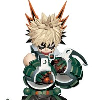 My Hero Academia: Enter the Hero Katsuki Bakugo Non-Scale Figure