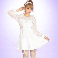 Swankiss Heart Candy Dress