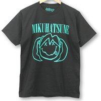 Hatsune Miku Smile Black T-Shirt