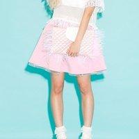 Swankiss A-Line Cross Skirt