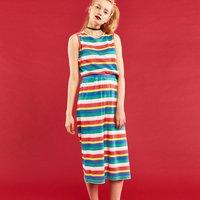 YUMMY MART Multicolor Striped Pajamas