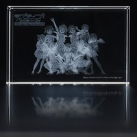 Love Live! Sunshine!! Uranohoshi Girls' High School Store: The 3D Crystal That Never Fades (Set)