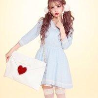Swankiss School Knit Dresses
