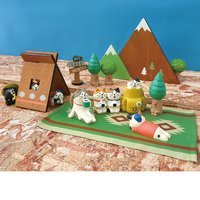 Decole Concombre Animal Hiking Club Diorama Collection