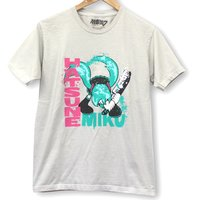 Hatsune Miku Clash of Miku Light Gray T-Shirt