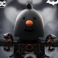 Q-mech x DC Comics Battle Chicken Batman Ver.