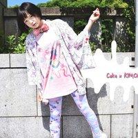 ACDC RAG Cake Kimono Cardigan