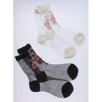 Honey Salon Bouquet Socks