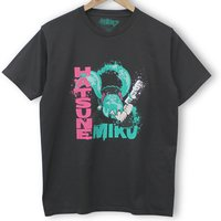 Hatsune Miku Clash of Miku Black T-Shirt