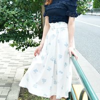 LIZ LISA Margaret Pattern Skirt