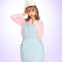 Swankiss Heart Candy Knit Top