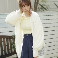 LIZ LISA Pearl Button Knit Cardigan