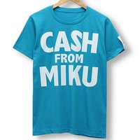 Hatsune Miku Cash from Miku Blue T-Shirt