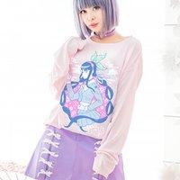 LISTEN FLAVOR Danganronpa V3: Killing Harmony Tenko Chabashira Neo Aikido Long T-Shirt